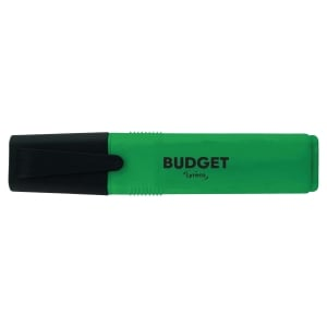 lyreco budget highlighters - green