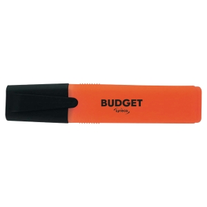 LYRECO BUDGET ORANGE HIGHLIGHTERS