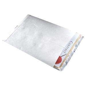 Boite 50 pochettes standard c5 tyvek 162x229 54g blanc indechirables