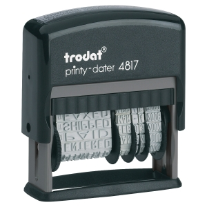 Trodat Printy 4817 dateur nonpersonnalisable NL 4mm