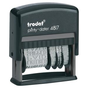 TRODAT PRINTY 4817 DIAL A PHRASE DATER POL