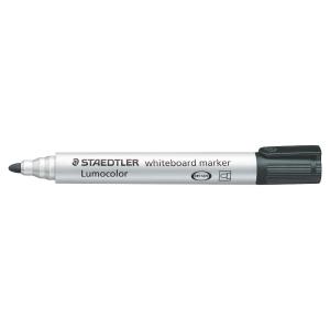 Staedtler® Lumocolor 351 whiteboard marker, ronde punt, zwart, per stuk