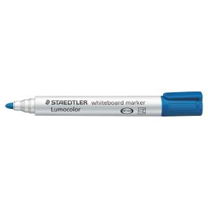 Staedtler® Lumocolor 351 whiteboard marker, ronde punt, blauw, per stuk