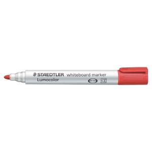 Staedtler® Lumocolor 351 whiteboard marker, ronde punt, rood, per stuk