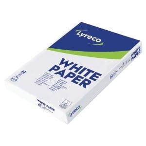 Lyreco wit papier A3 80g - 1 doos = 3 pakken van 500 vellen