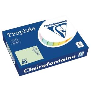 Ramette 500 feuilles papier trophée clairefontaine 80g A4 vert fsc