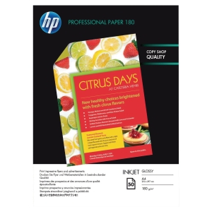 HP C6818A photo inkjet paper A4 180g - pack of 50 sheets