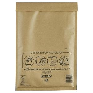Luftpolstertaschen Mail Lite F/3, Innenmaße: 220x330mm, goldgelb, 50 Stück