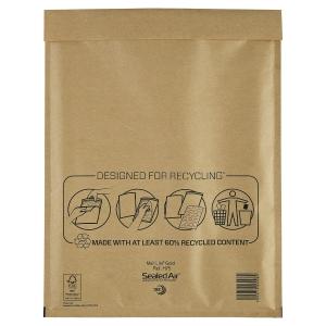 Luftpolstertaschen Mail Lite H/5, Innenmaße: 270x360mm, goldgelb, 50 Stück