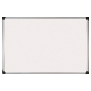 Bi-Office W-Series magnetisch gelakt whiteboard, 120 x 90 cm