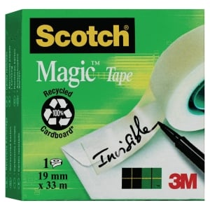 Neviditeľná lepiaca páska Scotch Magic 810, 19 mm x 33 m