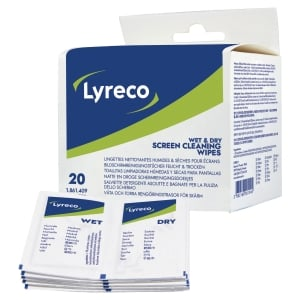 LYRECO WET & DRY SACHETS BOX OF 20