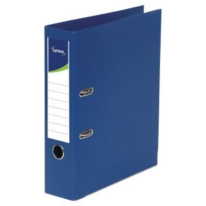 Lyreco classeur à levier PP dos 45mm bleu foncé