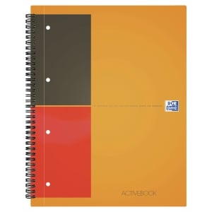 ACTIVEBOOK OXFORD INTERNATIONAL  INTEGRALE 240X297 160P 80G QUADRILLE 5mm