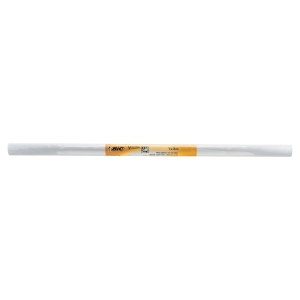 Whiteboard rulle BIC 2 x 1 m hvid