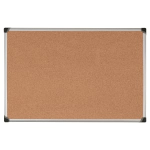 Aluminium Framed Cork Notice Board 900mm X 1200mm