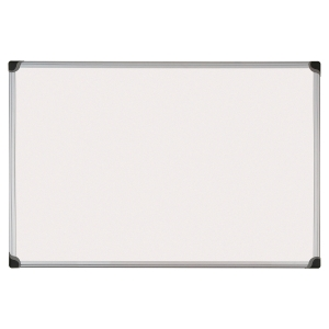 Bi-Office W-Series magnetisch gelakt whiteboard, 60 x 45 cm