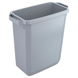 Mülleimer Durable 1800496050 Durabin 60, Fassungsvermögen: 60 Liter, grau