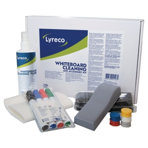 Lyreco starterkit whiteboard cleaning