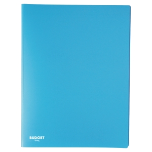 LYRECO BUDGET DISPLAY BOOK SOFT COVER A4 AZUR