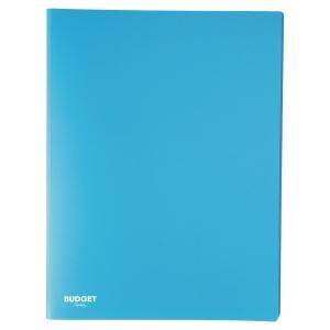 Carpeta flexible de 20 fundas fijas LYRECO en color azul