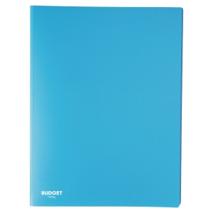Carpeta flexible de 40 fundas fijas LYRECO en color azul