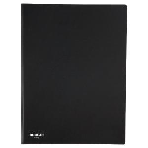 Lyreco Budget reliure de présentation A4 50 pochettes noire