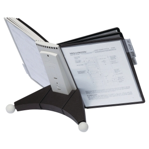 DURABLE SHERPA A4 10 PANEL COMPLETE DESK DISPLAY UNIT