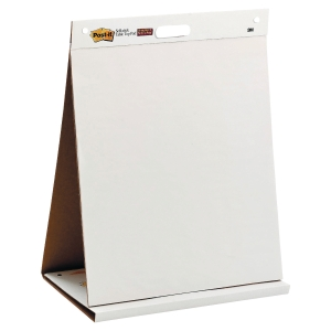 Table Top Post-it Super Sticky Meeting Chart 563R, 50,8x58,4 cm, weiss