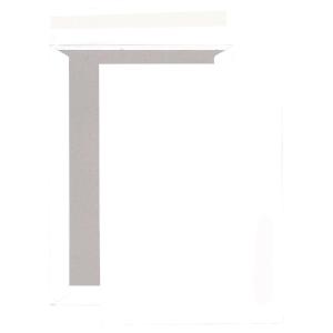 Boite 50 pochettes blanches dos carton 120g c4 bande siliconée