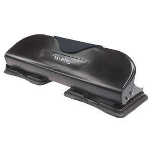 Lyreco Hole Punch 4-Hole Black