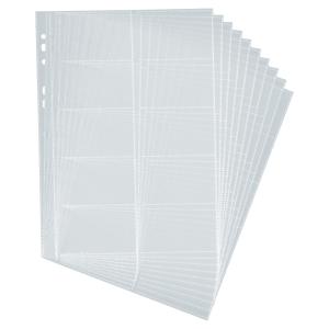 Durable hoesjes navullingen voor visitekaartmap Centium groot - pak van 10