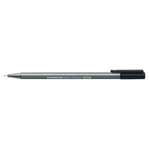 STAEDTLER 334 TRIPLUS FINELINER PEN 0.3 MM BLACK