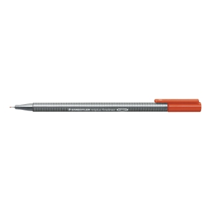 STAEDTLER 334-2 TRIPLUS FINELINER 0.3MM RED