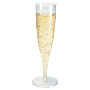 PAQUET 10 FLUTES A CHAMPAGNE 13,5CL PS TRANSPARENT