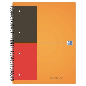 FILINGBOOK OXFORD INTERNATIONAL INTEGRALE A4+ 200 PAGES PERFOREES LIGNE 6MM