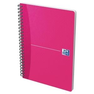 Cuaderno 90 hojas espiral doble varios colores A5 cuadriculado Oxford Essentials