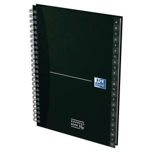 Lista telefónica OXFORD Office 72 folhas A5 capas varias cores