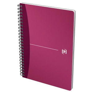 Caderno espiral 90 folhas A4,quadricula 5mm,90g/m2 Oxford Urban Mix