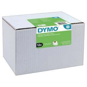 Dymo 220 tekercses etikettek, 101 x 54 mm, fehér