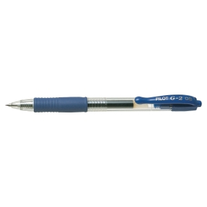 PILOT G2 Retractable Gel Ink Pen 0.5mm Blue