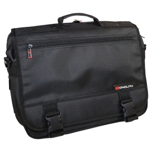 Monolith Expandable Briefcase Black