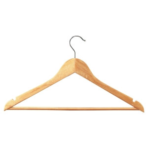 Coat hanger UL374 wood - pack of 25