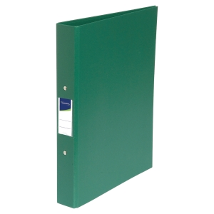 LYRECO GREEN A4 2 O-RING BINDER 40MM