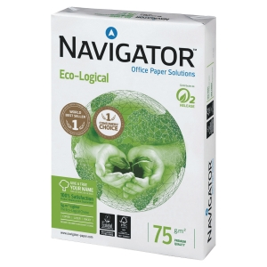 Navigator Eco-Logical Papier, A4, 75 g/m², weiss, 500 Blatt