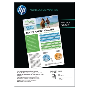 HP Q6593A photo inkjet paper A4 120g - pack of 200 sheets