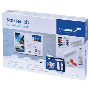 Legamaster 125000 whiteboard starter kit