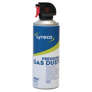 Aerosol antipolvo Lyreco - inflamable - 400 ml