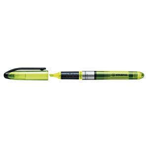 Marcador fluorescente cor amarela STABILO Navigator