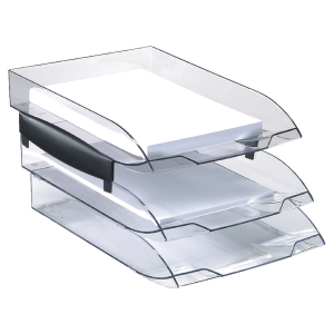 CEP Ice Letter Tray Black W273 X D370 X H63MM